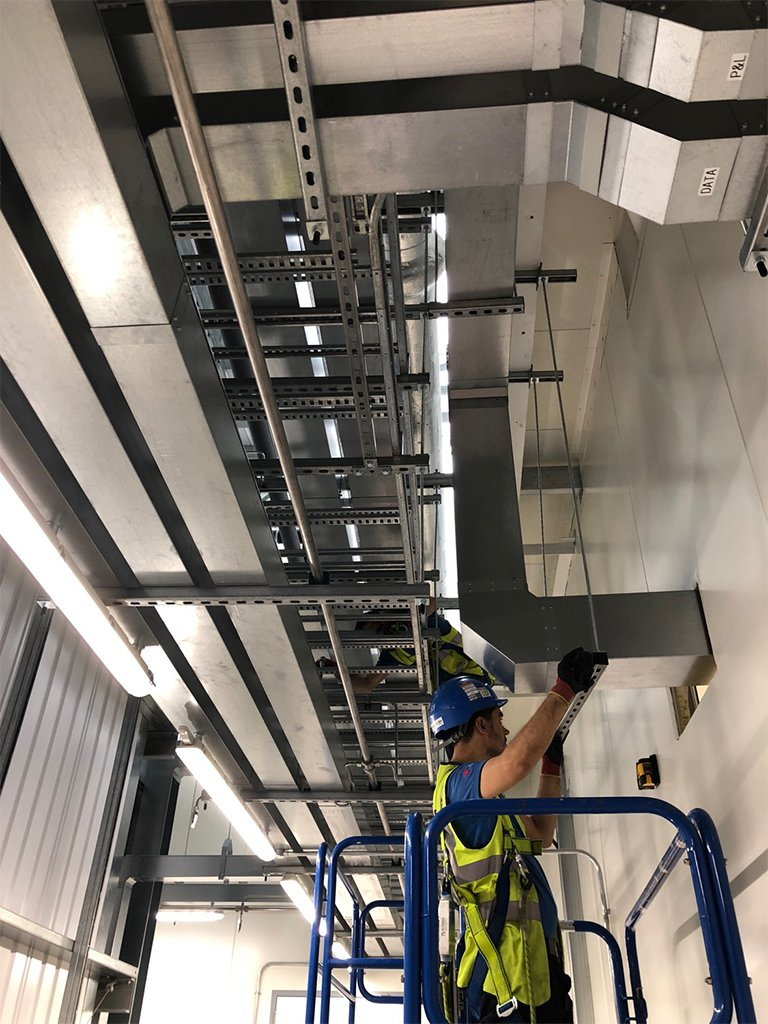 1 local electrical london data centre infrastructure