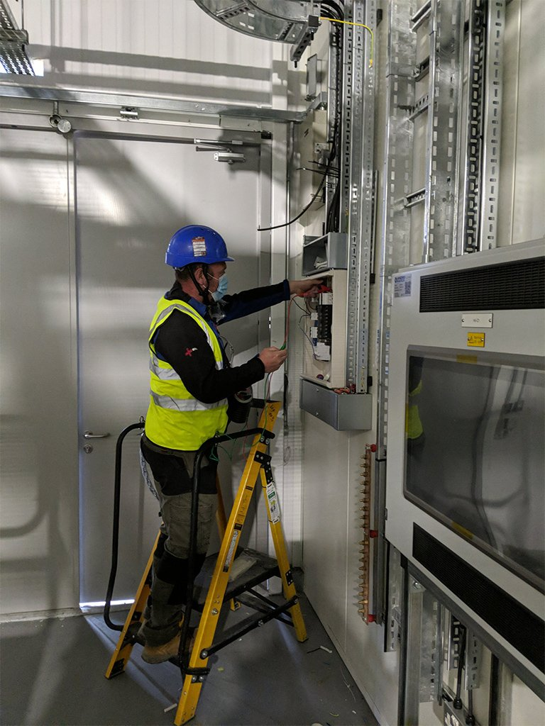 1 local electrician london data centres
