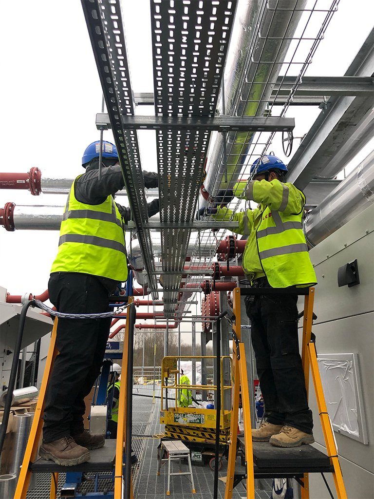 10 Tier 1 Data Centre electrical Contracting London LCF