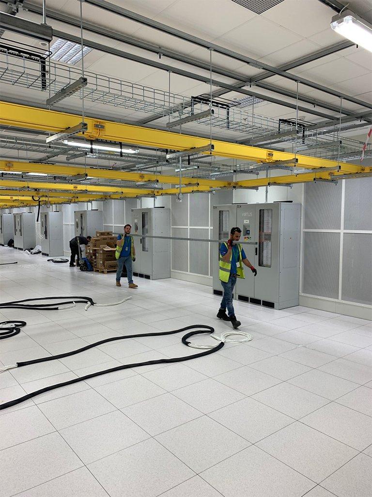 13 Data Centre Contracting London LCF