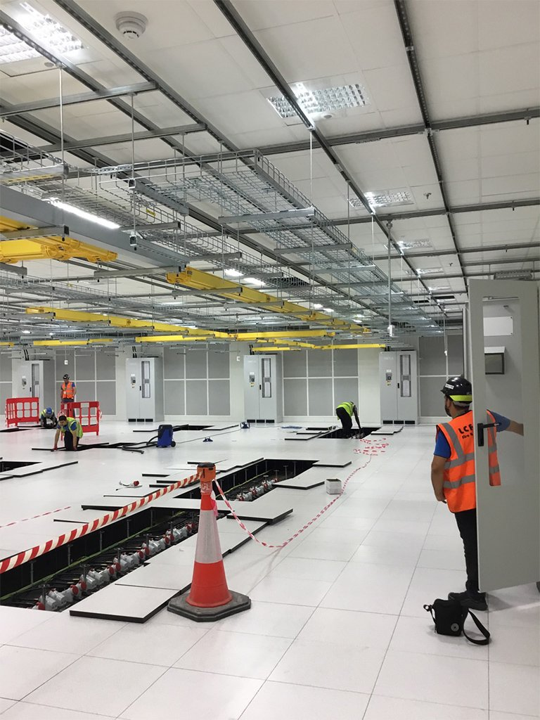 2 Data Centre electrical Contracting London LCF