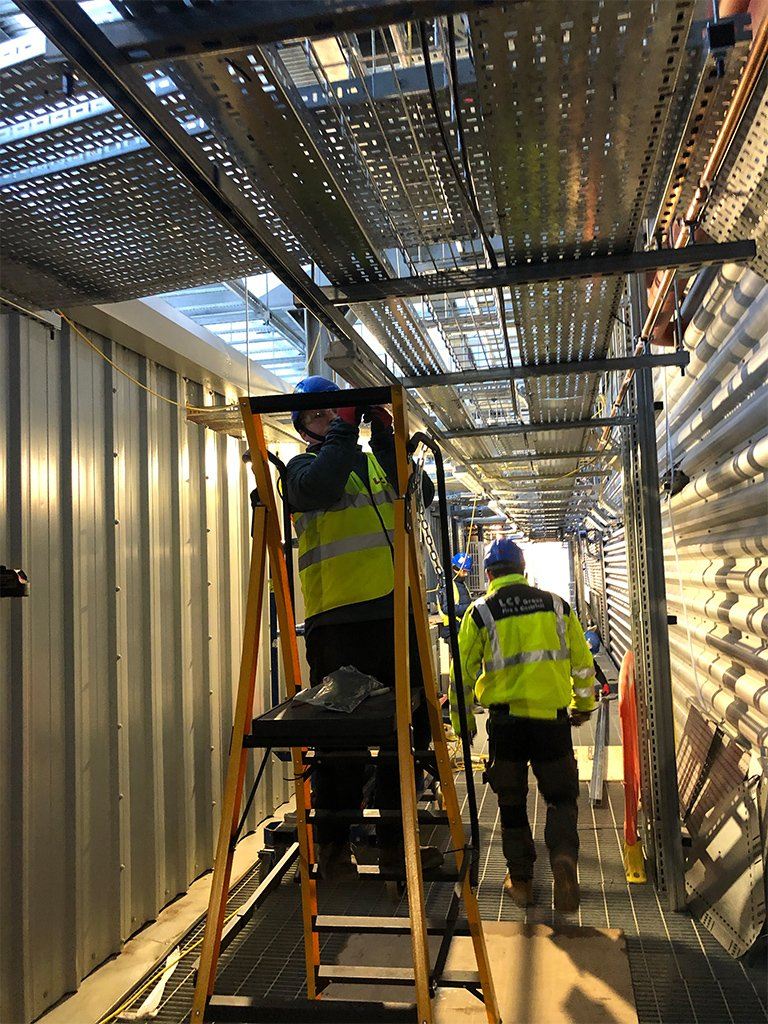 2 Tier 1 Data Centre electrical Contracting London LCF