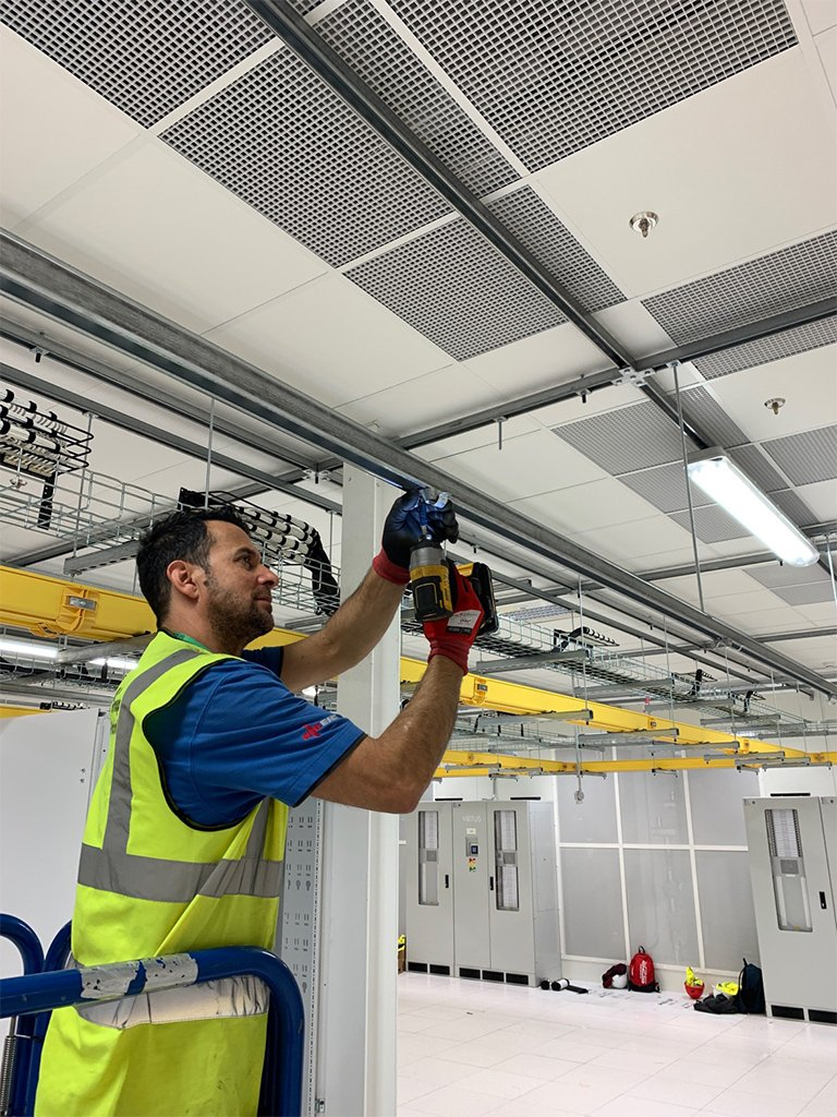 3 Data Centre electrical Contracting London LCF