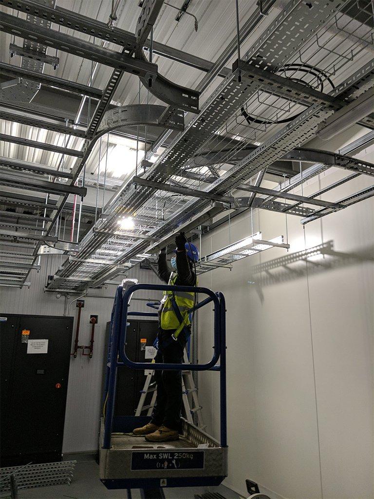 6 local electrician london data centres