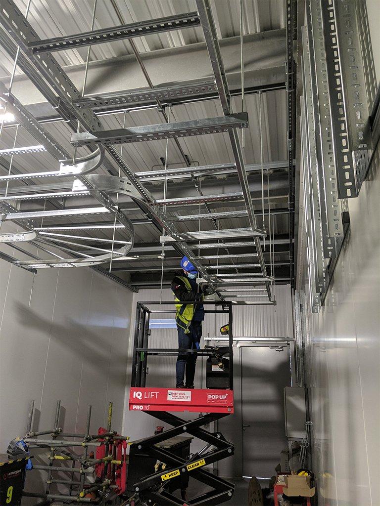 7 local electrician london data centres