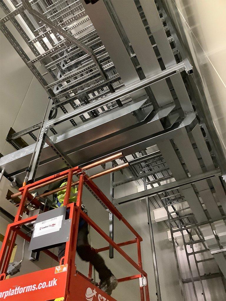 local electrician london data centres